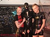 Rubberguy and Two Punk