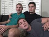 Bareback Threesome wit