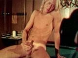 Blonds Fuck on Pool Ta