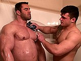 Shower With Two Hunks