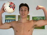 Footballer Jason Shows