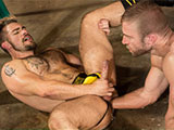 gay sexhome - JR Bronson and Aarin Aske from Club Inferno Dungeon