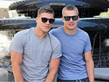 gay sexhome - Bridger and Austin from Active Duty