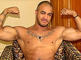 Ebony Muscle Hunk