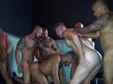 Big Sex Club Orgy Part