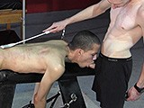 Chained Twink Oral