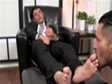 Business Man Feet Feti