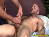 Bi Hunk David Gets Rub