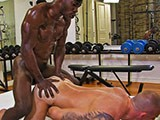 Black musclefucker