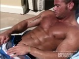 Pool Man With Abs