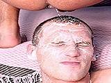 Cum Facial and Anal Fu