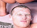 Gay Unload Cum on Face