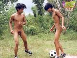Asian Nude Football an
