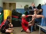 Footballer Stripped