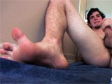 Huge Cock and Feet