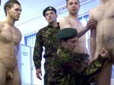 Army Private Wanked