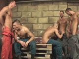 Gay Porn - Filthy Overalls - Part 3 from Visconti Triplets