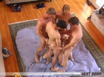 Throat Banged from Next Door Buddies