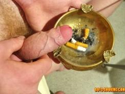 Artur from Boys Smoking