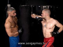 Remy Delaine And Francois Sagat from Sex Gaymes