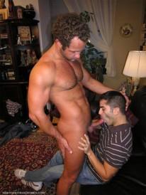 Conrad Returns from New York Straight Men