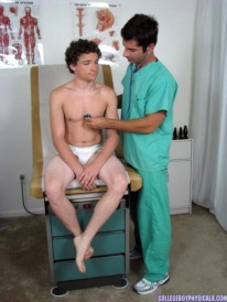 Kyles Anal Exam from College Boy Physicals