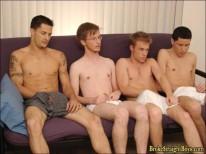 Taz Jona Orgy from Broke Straight Boys