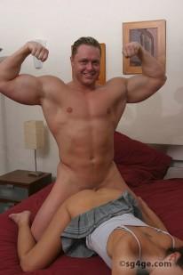 Jordan King Ii from Straight Guys For Gay Eyes