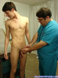 Anthony Gets A Physical from College Boy Physicals