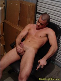 Horny Sebastian from Broke Straight Boys
