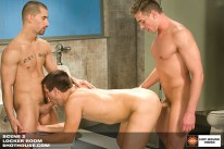 Locker Room Threesome from Hot House