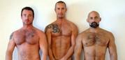 Steamy Threeway Sex from Alpha Males