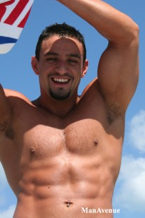 Nacho Shows Off Hot Body from Man Avenue