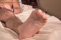 Cali Stroking His Cock from Straight Fraternity