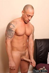 Bald Muscle Hunk Duke from Butch Dixon
