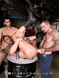Three Studs Eat Big Cocks from Xtra Inches
