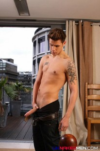 Robbie Shows Uncut Cock from Uk Naked Men