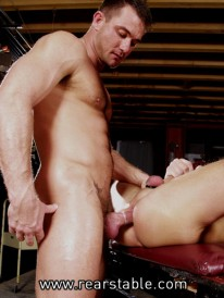 Max Feeds Cock To Trey from Raging Stallion
