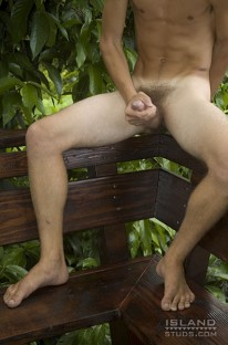 Barry Shows Ass And Cock from Island Studs