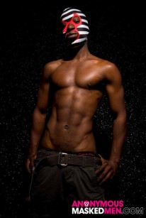 Hung Black Stud from Anonymous Masked Men