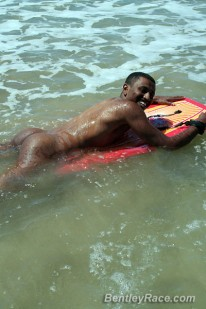Marco Surfing Naked from Bentleyrace
