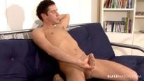 Toned Stud Yanks Cock from Blake Mason