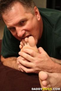 Bretts Beautiful Feet from Daddy Mugs
