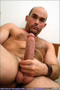 Hairy Nick Jerks Off from Men Over 30