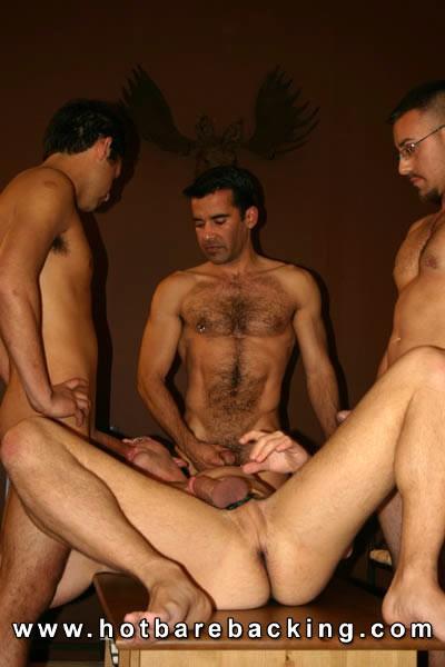 Barebacking group