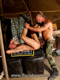 Jake In Military Fuck from Hairy Boyz