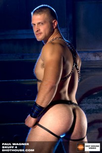 Paul Wagner In Leather from Hot House
