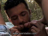 Outdoor Banging from Raging Stallion