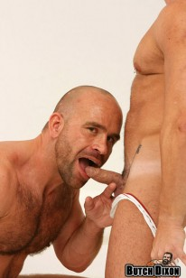 Muscle Hunks Marco And Jorge from Butch Dixon