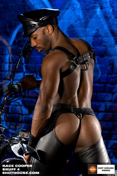 Gay Black Leather Porn